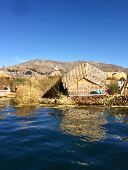 Homes on Peru's Floating Islands