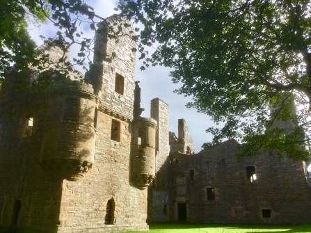 Earl's and Bishop's Palace, Kirkwall, Orkney Isles
