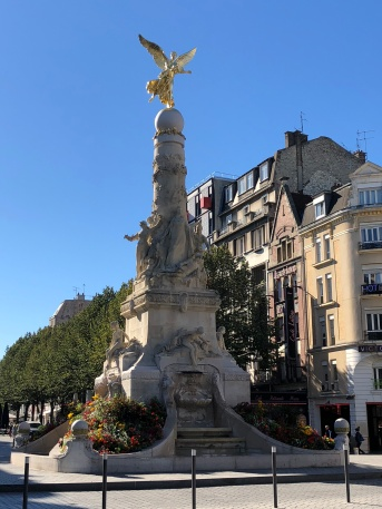 Scenes from beautiful Reims, France