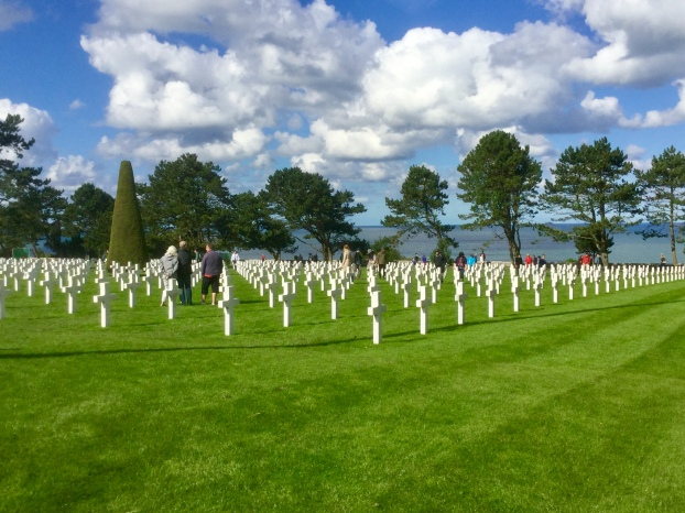 The United Staes Military Cemetery in France